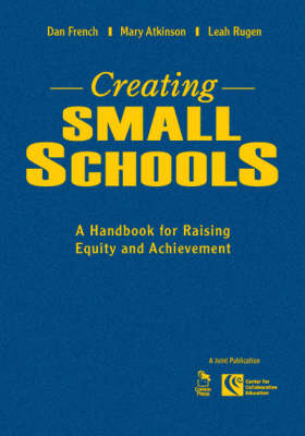 Creating Small Schools: A Handbook for Raising Equity and Achievement (Hardback)