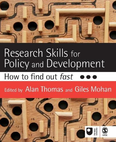 Research Skills for Policy and Development: How to Find Out Fast - Published in Association with The Open University (Paperback)