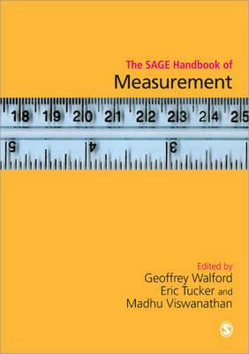 The SAGE Handbook of Measurement (Hardback)