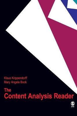 The Content Analysis Reader (Hardback)