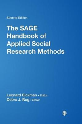 The SAGE Handbook of Applied Social Research Methods (Hardback)
