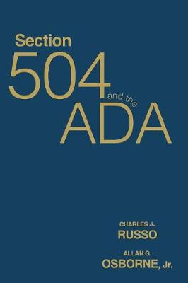 Section 504 and the ADA (Hardback)