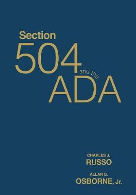 Section 504 and the ADA (Paperback)