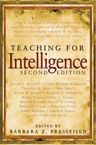 Teaching for Intelligence (Paperback)