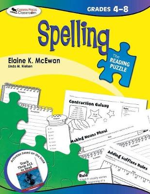 The Reading Puzzle: Spelling, Grades 4-8 (Paperback)