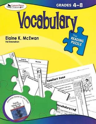 The Reading Puzzle: Vocabulary, Grades 4-8 (Paperback)
