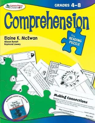 The Reading Puzzle: Comprehension, Grades 4-8 (Paperback)