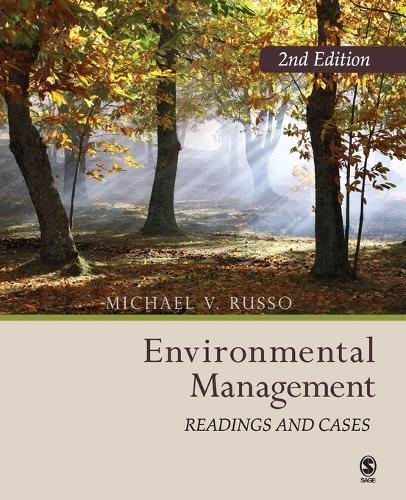 Environmental Management: Readings and  Cases (Paperback)