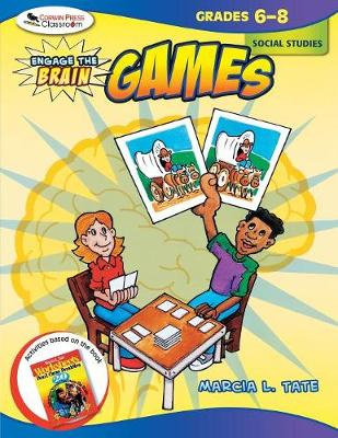 Engage the Brain: Games, Social Studies, Grades 6-8 (Paperback)