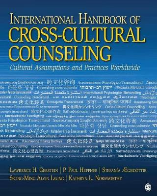 International Handbook of Cross-Cultural Counseling: Cultural Assumptions and Practices Worldwide (Paperback)