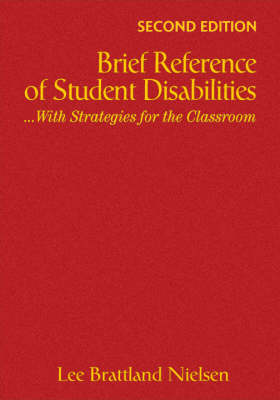 Brief Reference of Student Disabilities: ...With Strategies for the Classroom (Hardback)