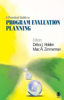 A Practical Guide to Program Evaluation Planning: Theory and Case Examples (Paperback)