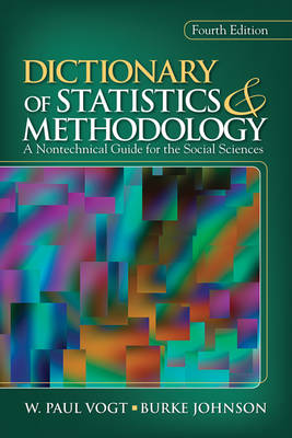 Dictionary of Statistics & Methodology: A Nontechnical Guide for the Social Sciences (Paperback)