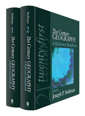 21st Century Geography: A Reference Handbook (Hardback)