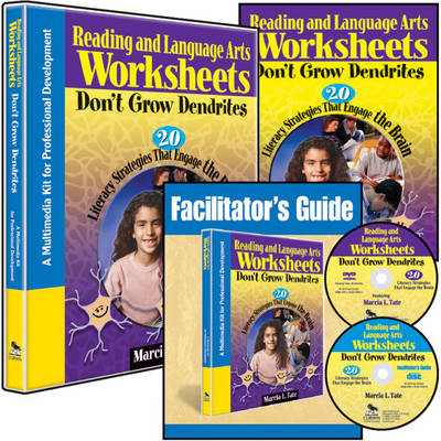 Reading and Language Arts Worksheets Don't Grow Dendrites (Multimedia Kit): 20 Literacy Strategies That Engage the Brain (Book)