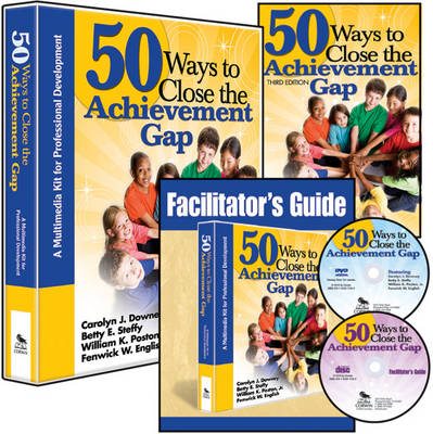 50 Ways to Close the Achievement Gap (Multimedia Kit): A Multimedia Kit for Professional Development (Book)