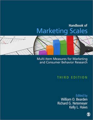 Handbook of Marketing Scales: Multi-Item Measures for Marketing and Consumer Behavior Research (Hardback)