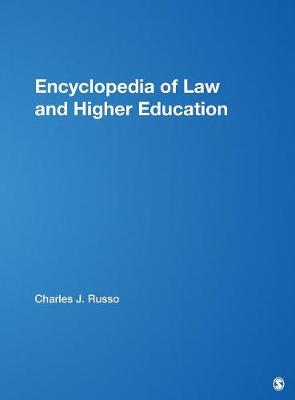 Encyclopedia of Law and Higher Education (Hardback)
