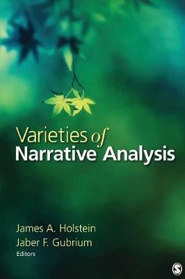 Varieties of Narrative Analysis (Paperback)