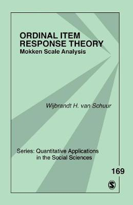 Ordinal Item Response Theory: Mokken Scale Analysis - Quantitative Applications in the Social Sciences (Paperback)