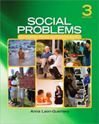Social Problems: Community, Policy, and Social Action (Paperback)