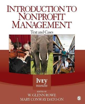 Introduction to Nonprofit Management: Text and Cases (Paperback)