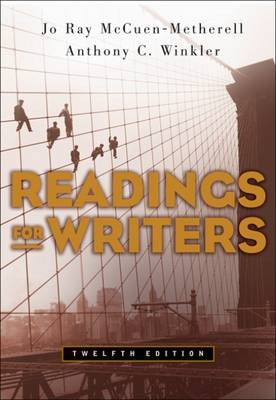 Readings for Writers (Paperback)