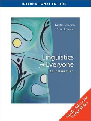Linguistics for Everyone (Paperback)