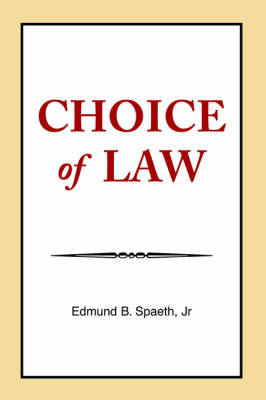 Choice of Law (Paperback)