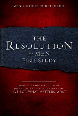 Resolution For Men Bible Study, The (Paperback)