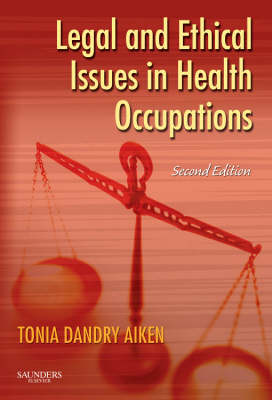 Legal and Ethical Issues in Health Occupations (Paperback)