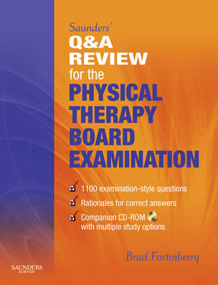 Saunders' Q & A Review for the Physical Therapy Board Examination (Paperback)