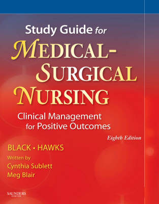 Study Guide for Medical-Surgical Nursing: Clinical Management for Positive Outcomes (Paperback)
