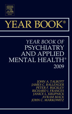 Year Book of Psychiatry and Applied Mental Health 2009 - Year Books (Hardback)