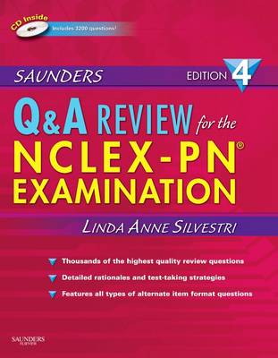 Saunders Q & A Review for the NCLEX-PN Examination (Paperback)