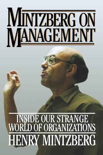 Mintzberg on Management (Paperback)