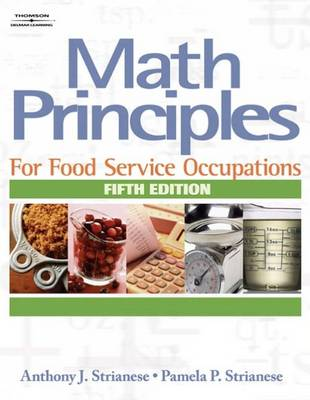 Math Principles for Food Service Occupations (Paperback)