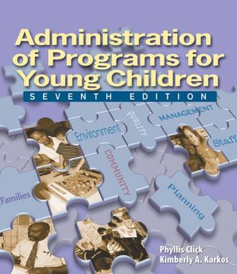 Administration of Programs for Young Children (Paperback)