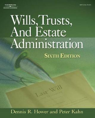 Wills, Trusts and Estate Administration (Hardback)