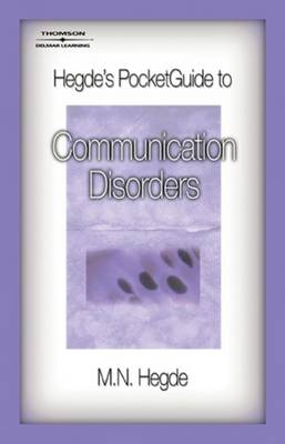 Hegde's Pocket Guide to Communication Disorders (Paperback)