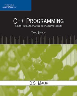 C++ Programming: From Problem Analysis to Program Design (Paperback)