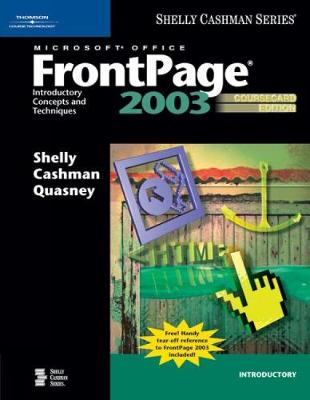 Microsoft Office FrontPage 2003: Introductory Concepts and Techniques, CourseCard Edition (Paperback)