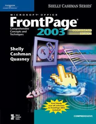 Microsoft Office FrontPage 2003: Comprehensive Concepts and Techniques, (Paperback)