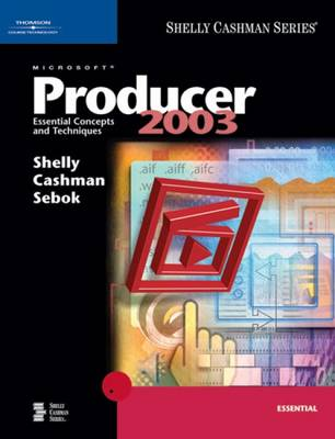 Microsoft Producer 2003: Essential Concepts and Techniques (Paperback)