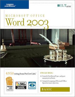 Word 2003: Basic - ILT (Spiral bound)