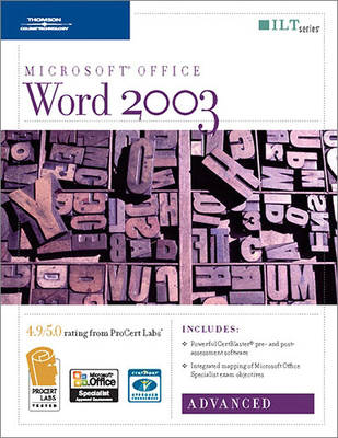 Word 2003: Advanced - ILT (Spiral bound)