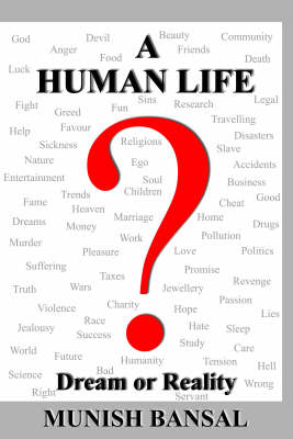 """A Human Life """"Dream or Reality"""" (Paperback)"""