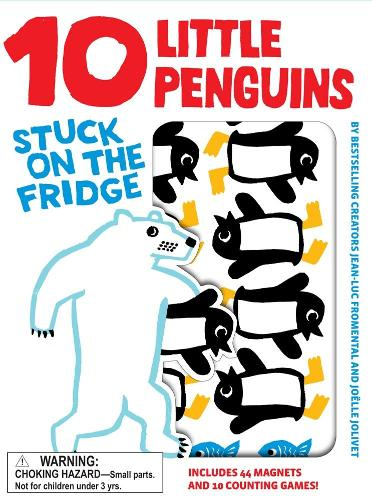 10 Little Penguins Stuck on the Fridge (Hardback)