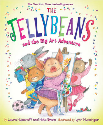 Jellybeans and the Big Art Adventure (Hardback)