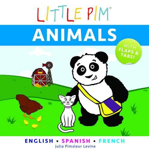 Little Pim: Animals - English/Spanish/French (Board book)
